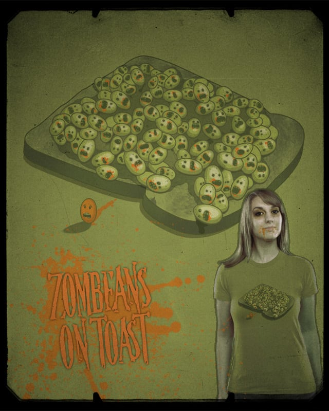 Zombeans on Toast by quick-brown-fox on Threadless