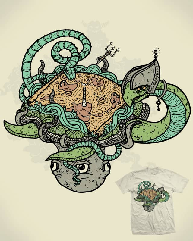 The monsters over the edge by Demented on Threadless