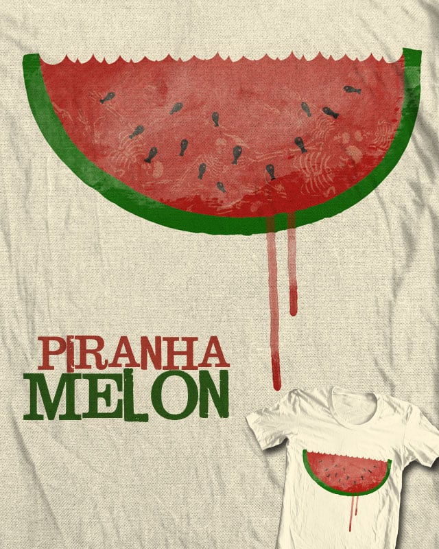 piranhamelon by jerbing33 on Threadless