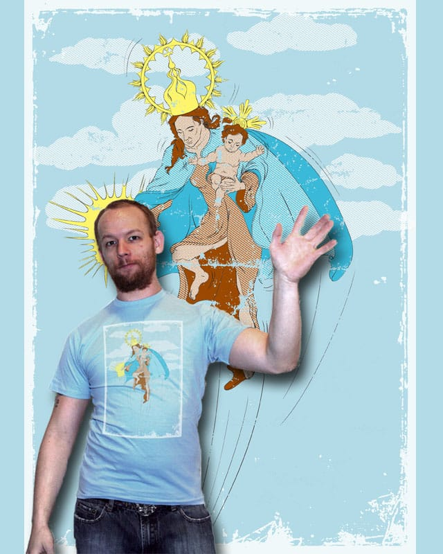 Virgen del Carmen by rompetelcuero on Threadless