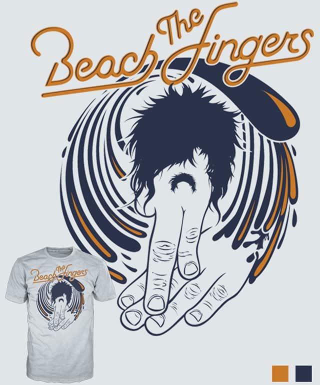 The Beach Fingers by opippi on Threadless