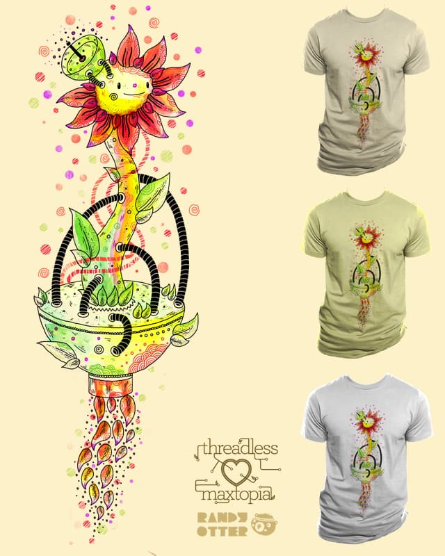 Flower powered by randyotter3000 on Threadless