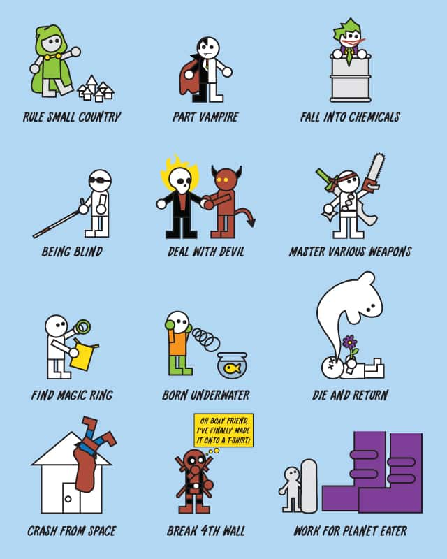 How to become Super Vol. II by Haragos on Threadless