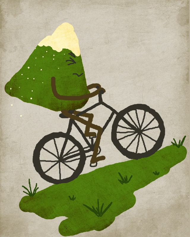 Mountain Biking by Noh_Body on Threadless