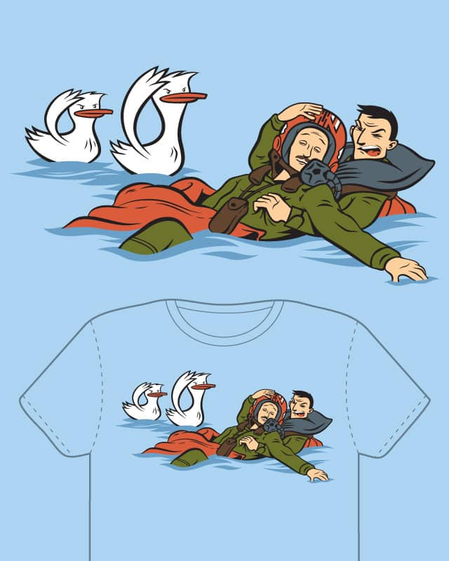Duck, Duck, Goose, and Maverick by DPF on Threadless