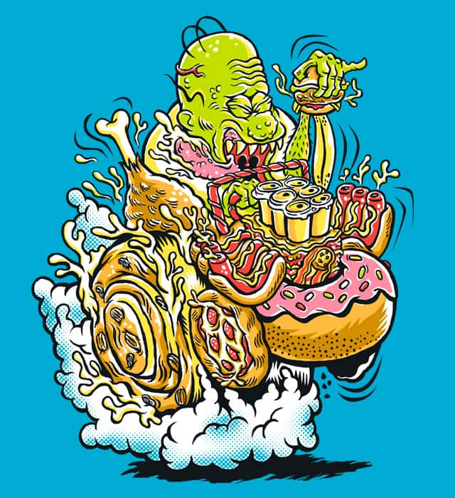Gastronomic Guzzler by herky on Threadless