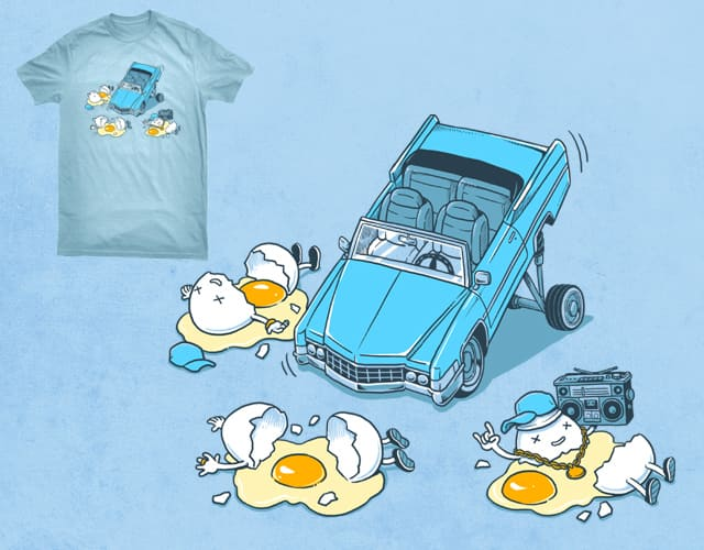 egg lowrider by ben chen on Threadless