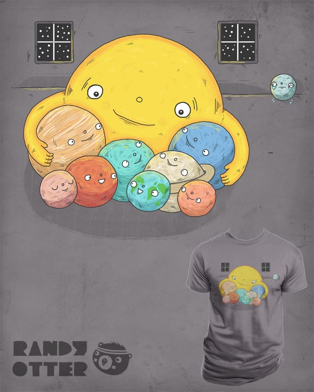 Sorry Pluto, planets only by randyotter3000 on Threadless