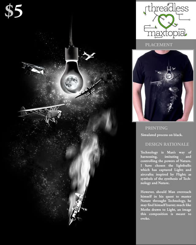 Light and Flight by jumppuppyjump on Threadless