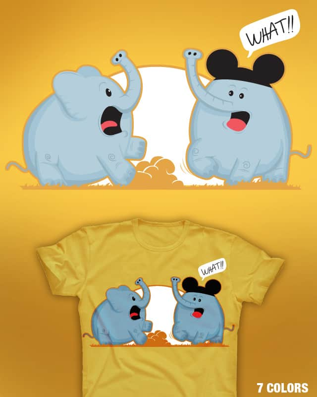 MICKEY WHAT by oscarospina on Threadless