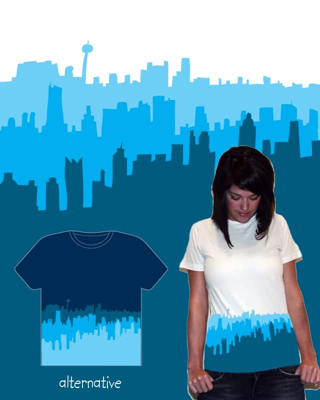 Out of The Blue by Zen Studio on Threadless