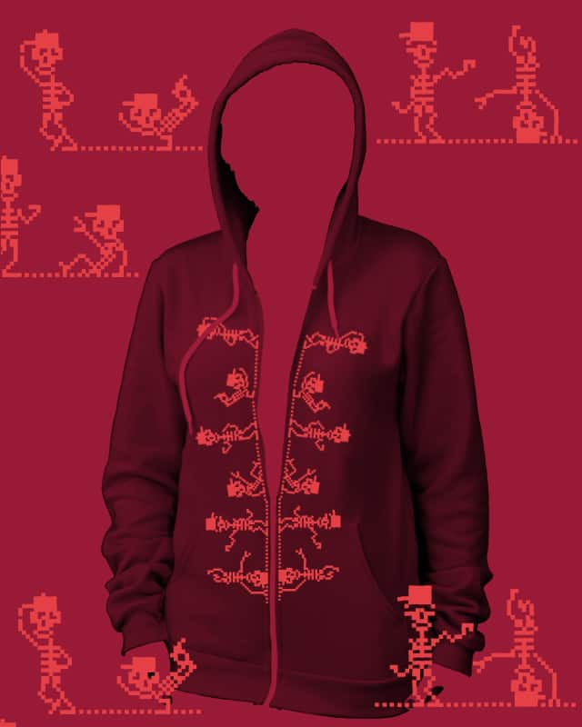 Electric hoodie by 51brano on Threadless