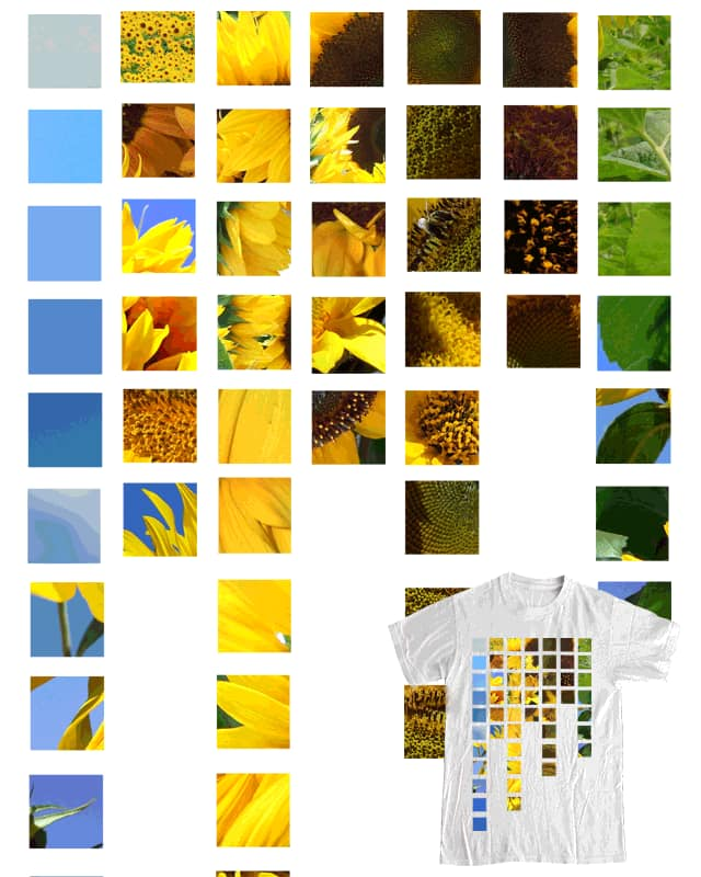 Sunflowers by greenttentacle on Threadless