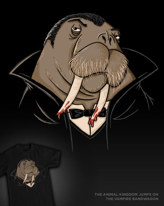 The Animal Kingdom Jumps on the Vampire Bandwagon by WanderingBert on Threadless