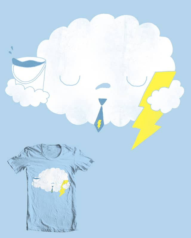 Mr Cloud hates his dayjob by randyotter3000 on Threadless