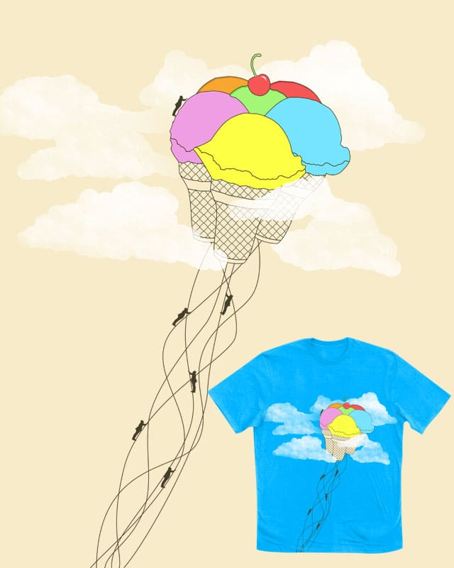Sky-ce Cream by tylerbramer on Threadless