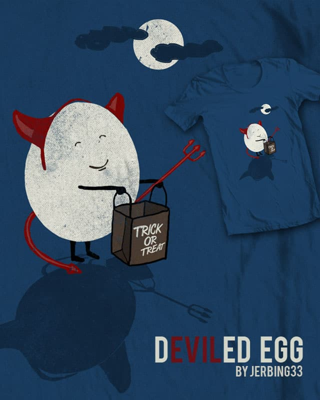 deviled egg by jerbing33 on Threadless