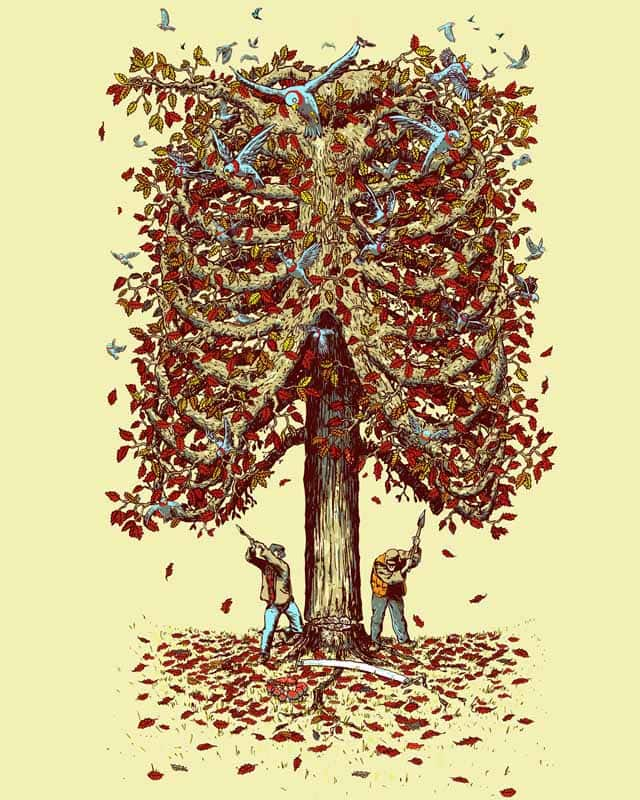 autumn inside by choubaka360 on Threadless