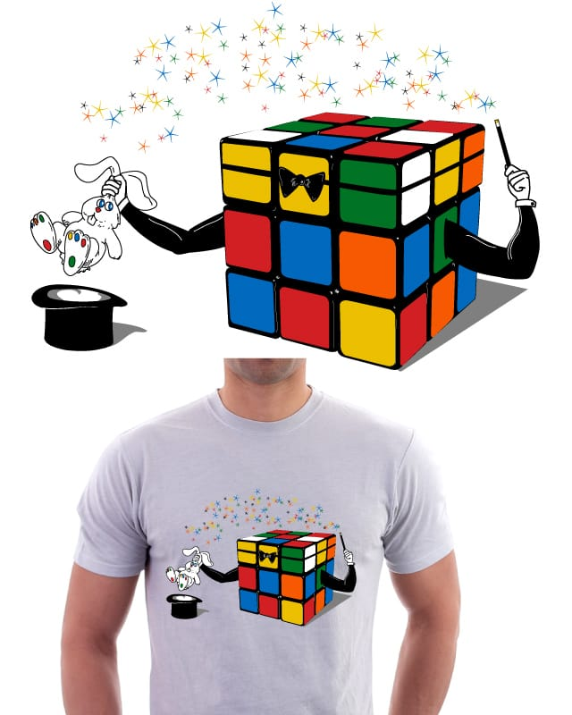 Magic Cube by yurilobo on Threadless