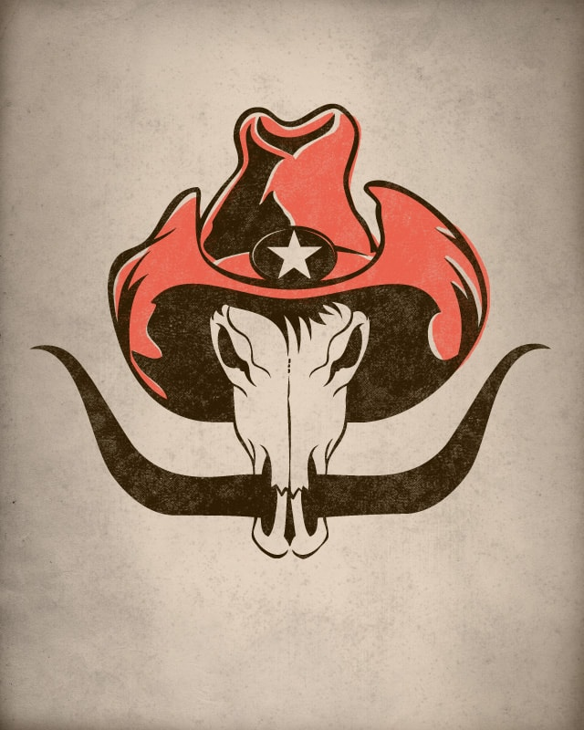 The Cowboy by murraymullet on Threadless