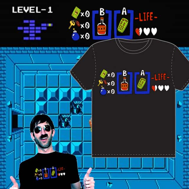 No-Life Meter by BattleTankBob on Threadless