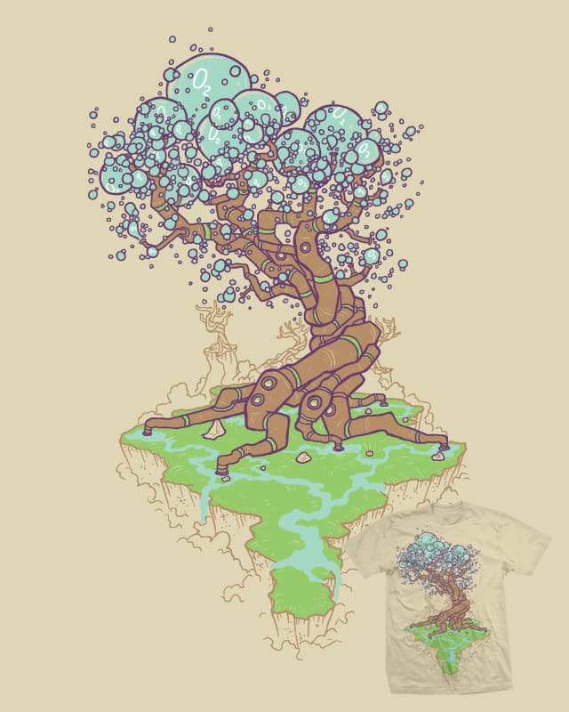 Natures Oxygen Factories by Demented on Threadless