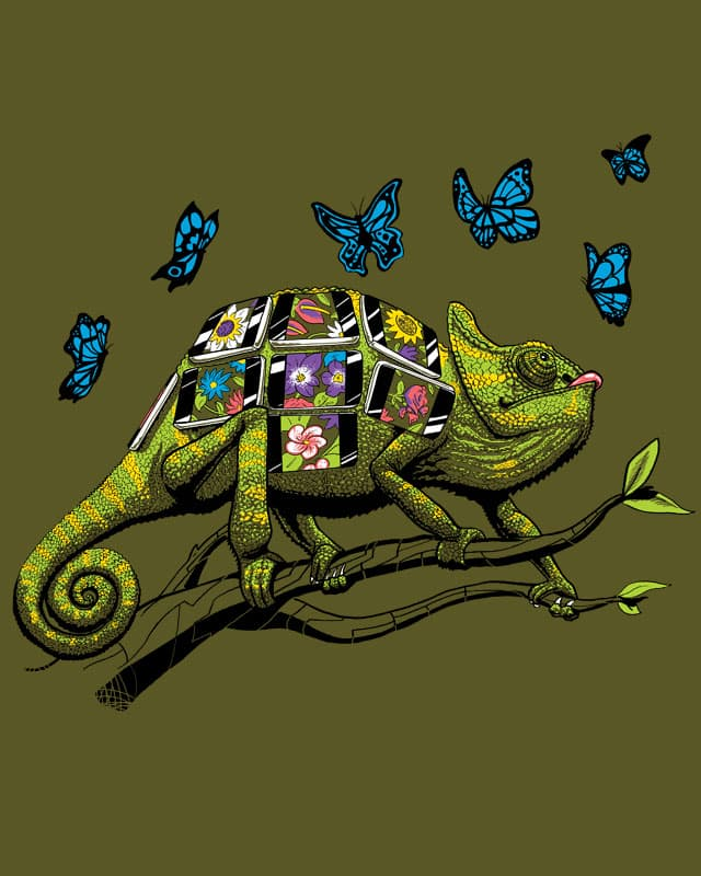 Smartphones, dumb butterflies, easy pickins by Friendly Fire on Threadless