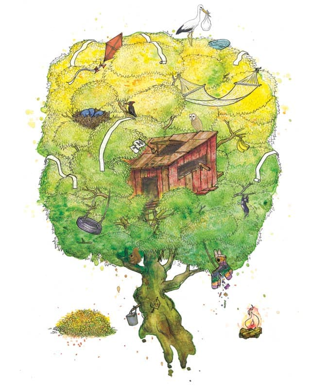 Tree Love by Luke... on Threadless