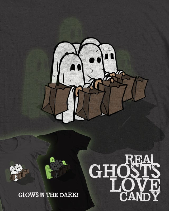 Real Ghosts Love Candy by jerbing33 on Threadless