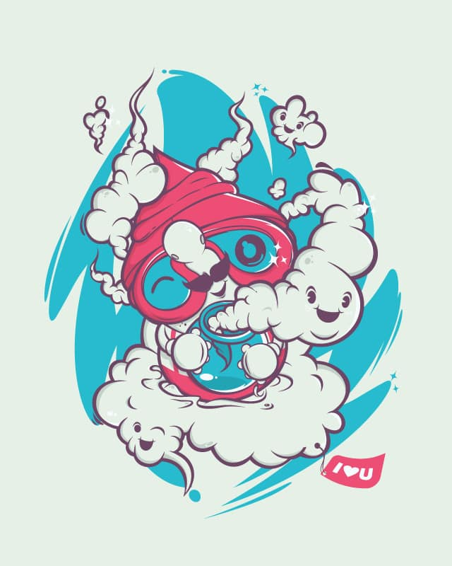 The clouds hunter by zit0ne on Threadless