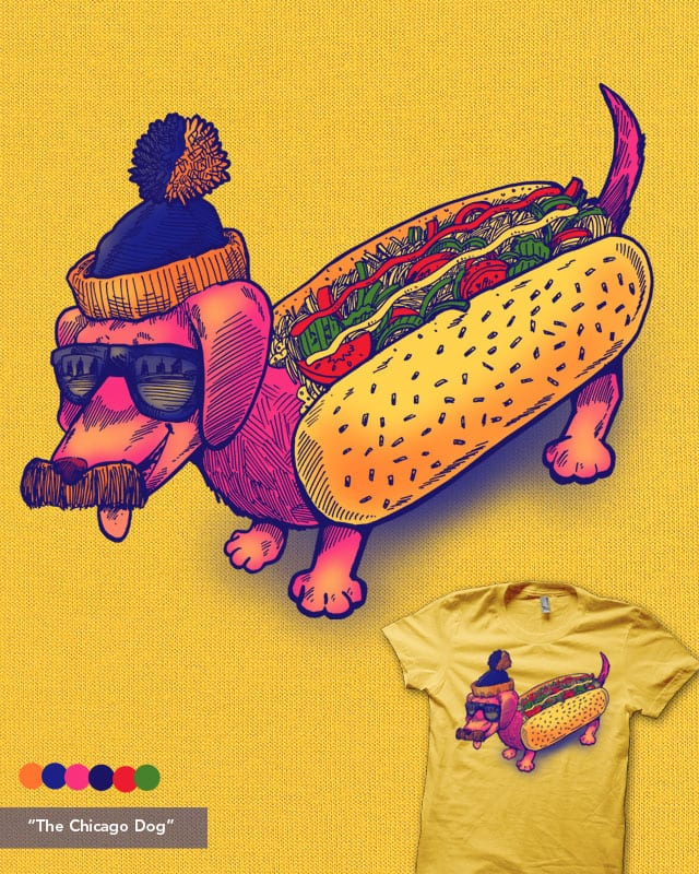 The Chicago Dog by nickv47 on Threadless