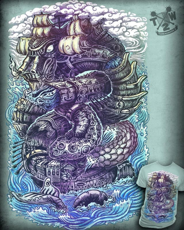 Serpent Sea Serpent Do by dlincoln83 on Threadless