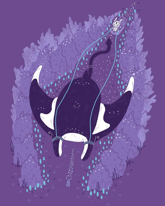 Manta Ray Rabbit Racing by randyotter3000 on Threadless