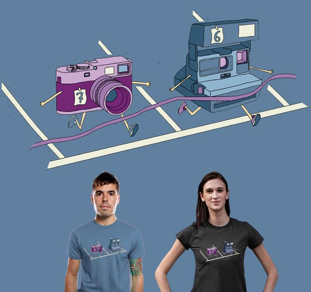 Photo Finish by TeoZ on Threadless
