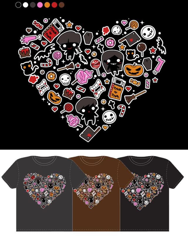 This is HalloCute by SaMtRoNiKa on Threadless