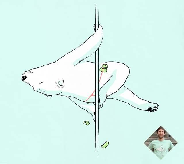 Pole Bear by tenso on Threadless