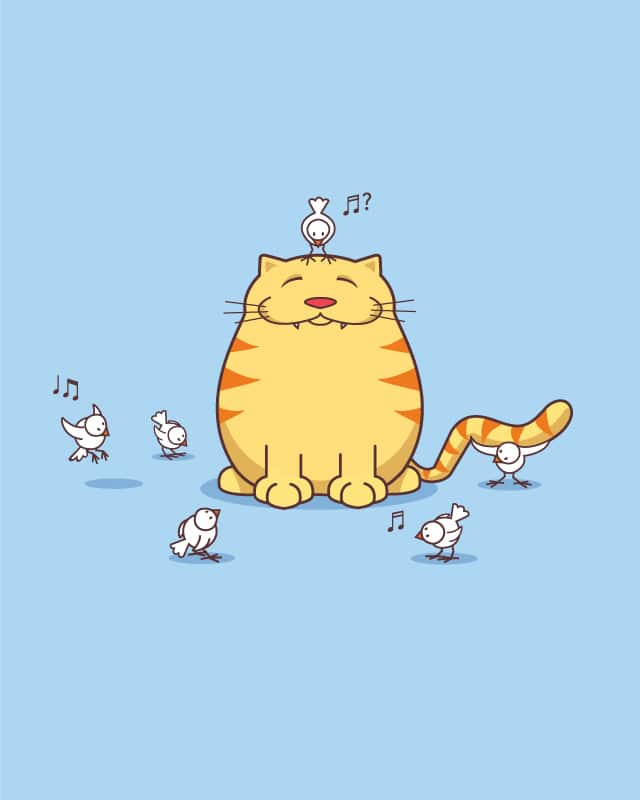 good cat by QuietCity on Threadless