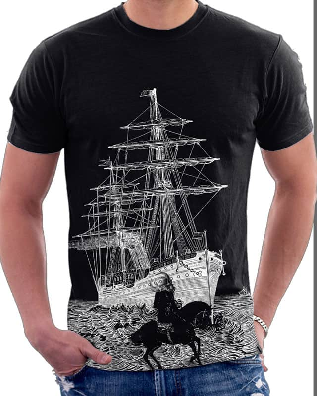 Ship at Night by Oiseau83 on Threadless