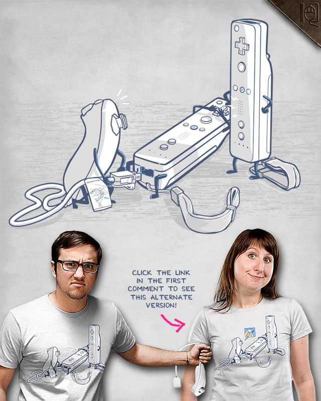 I'm just following the instructions! by rodrigobhz on Threadless