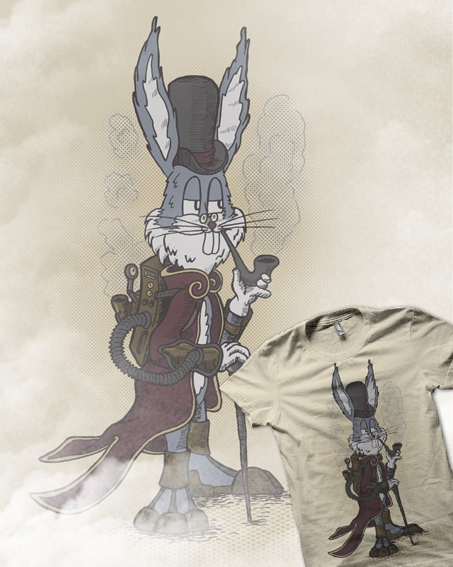 Steambugs Bunny by salihgonenli on Threadless