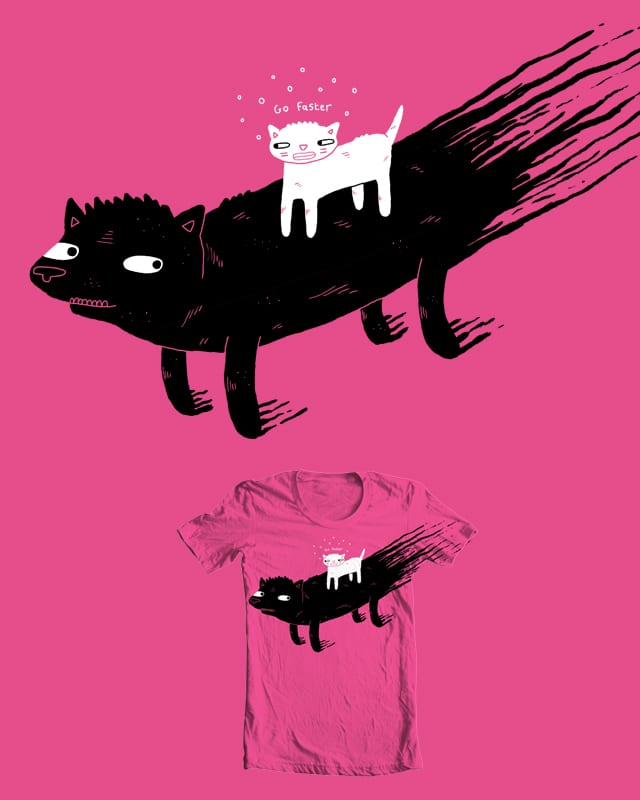 Oil based dog boat by randyotter3000 on Threadless