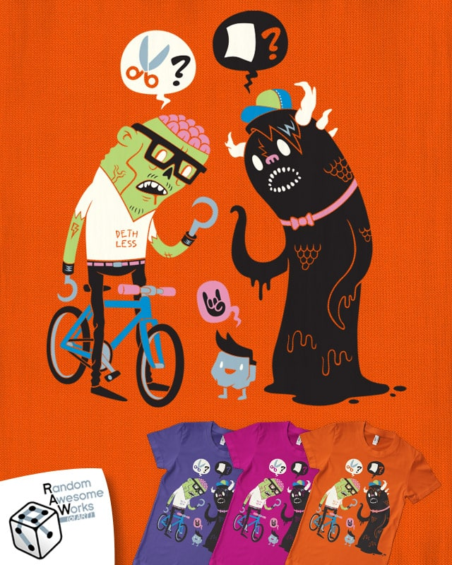 The Cool Kids of Monstertown Don't Get It Either by Morkki on Threadless