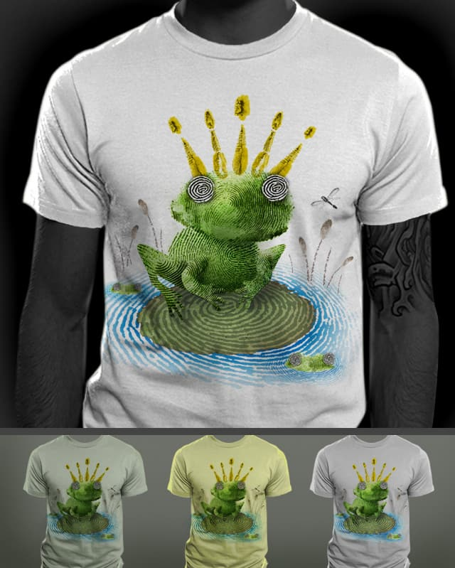 Frog Prints by pjbrick7 on Threadless