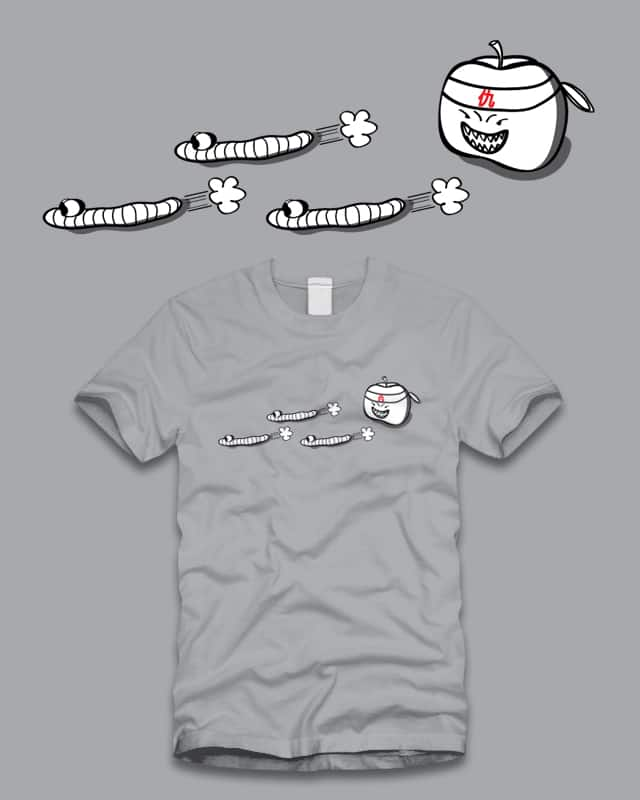 Revenge of the Apple by jy01726605 on Threadless