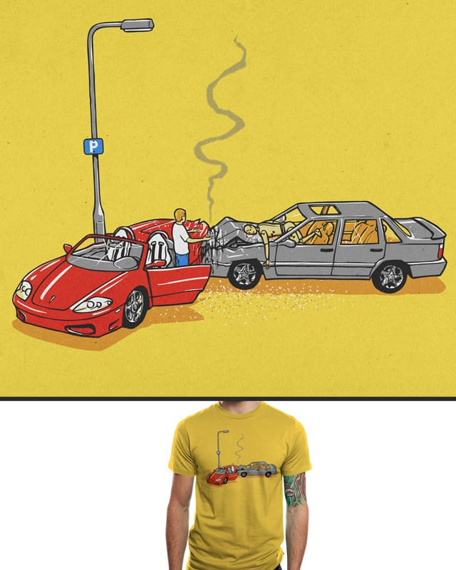 Accident Prone by aled on Threadless