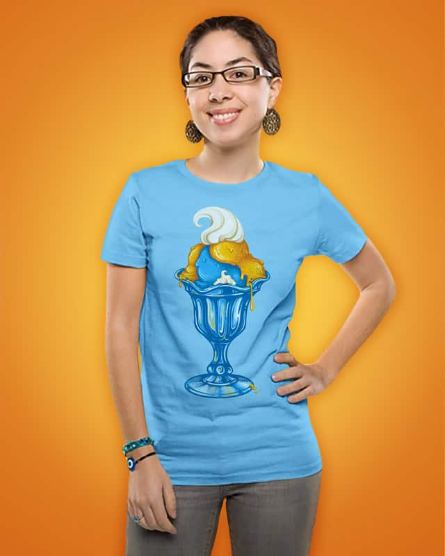 Smurfalicious by buko on Threadless