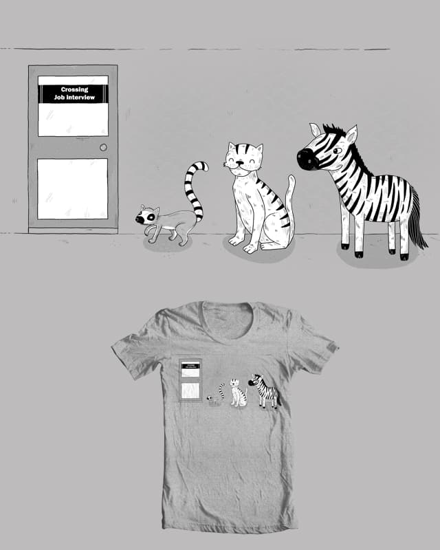 How the zebra got his job by randyotter3000 on Threadless
