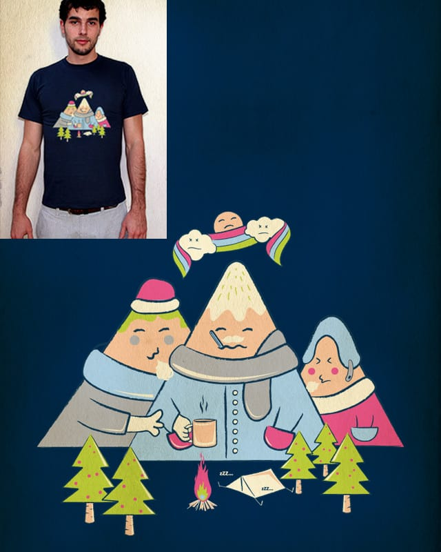 Cold Mountain by skitchism on Threadless