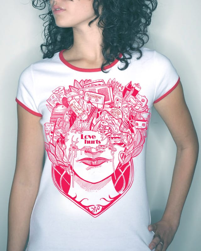 Love Hurts by Mirrormaster on Threadless