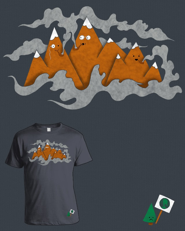 The Smoky Mountains by mj00 on Threadless